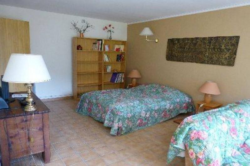 Location de vacances - Chalet à Briançon - coin chambre studio