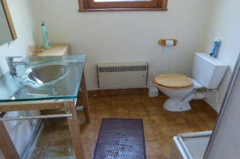 Location de vacances - Chalet à Briançon - salle de bains studio avec douche