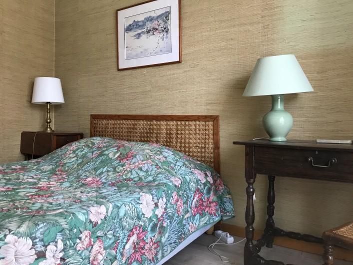 Location de vacances - Chalet à Briançon - chambre sur terrasse