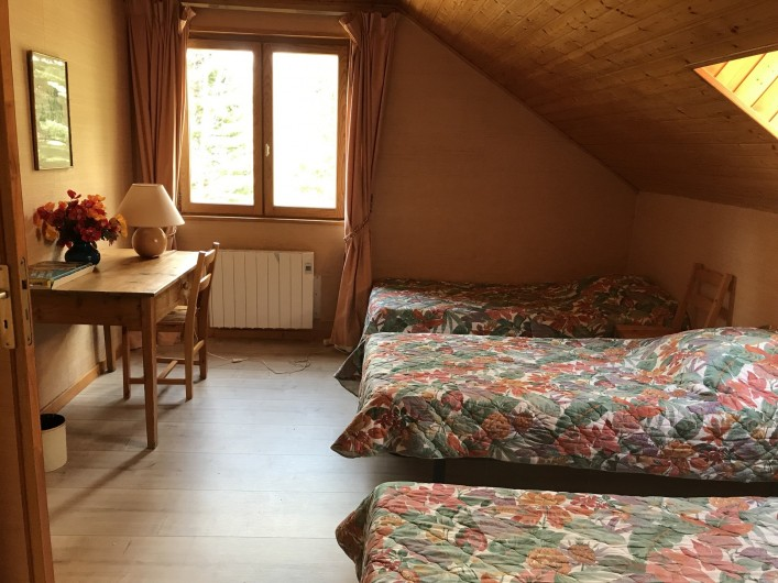 Location de vacances - Chalet à Briançon - petit dortoir