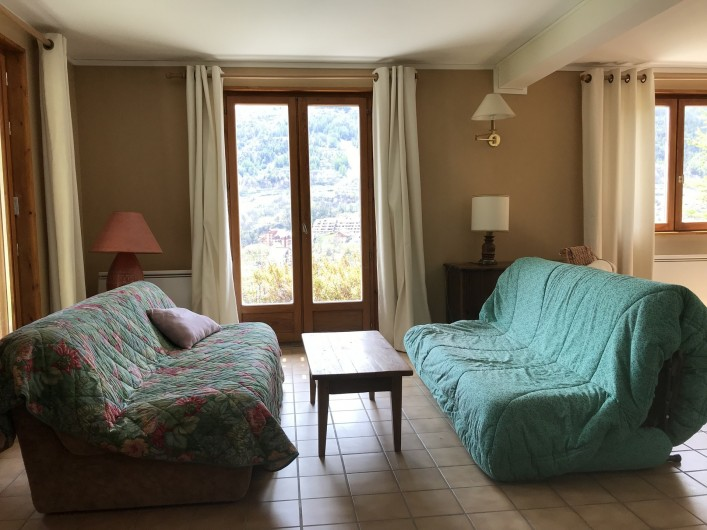 Location de vacances - Chalet à Briançon - salon du strudui
