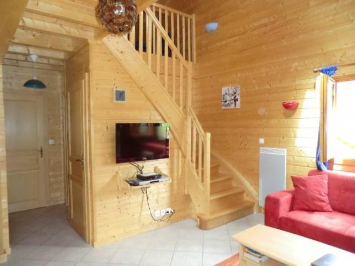 Location de vacances - Chalet à Saint-Maurice-sur-Moselle - Séjour Salon