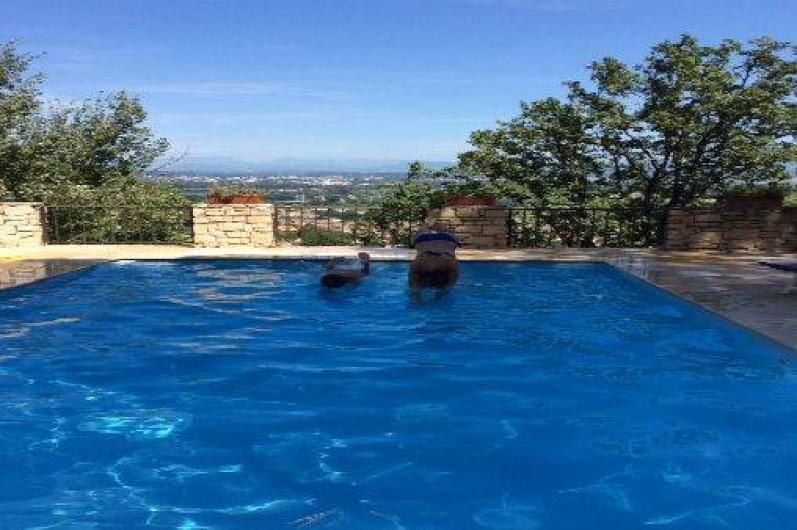 Location de vacances - Appartement à Le Teil - piscine