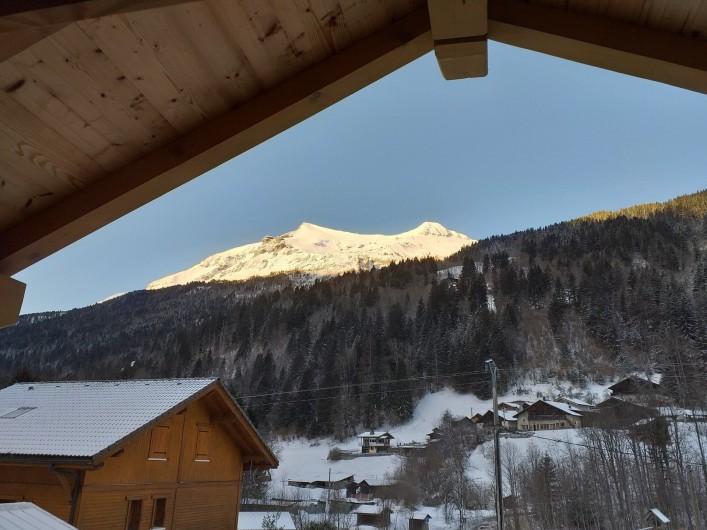 Location de vacances - Chalet à Les Contamines-Montjoie - Vue du balcon