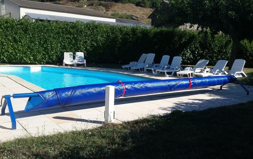 Location de vacances - Chambre d'hôtes à Divajeu - la piscine