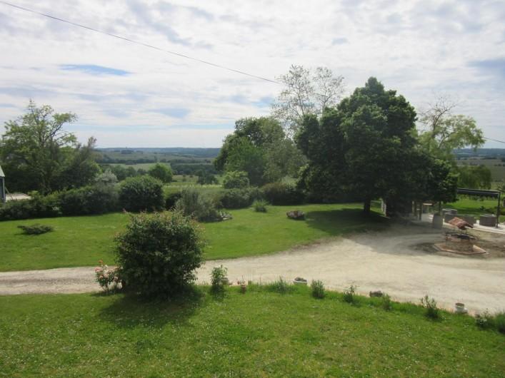 Location de vacances - Gîte à Fourcès - VUE SUR LA CAMPAGNE