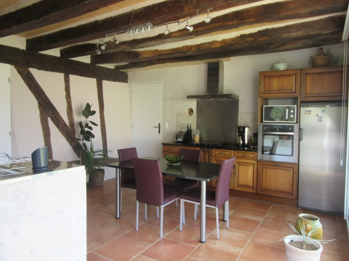Location de vacances - Gîte à Fourcès - CUISINE