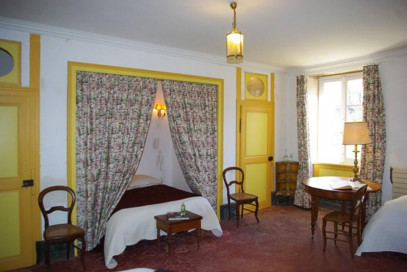 Location de vacances - Château - Manoir à Bussy-la-Pesle - Chambre Marie