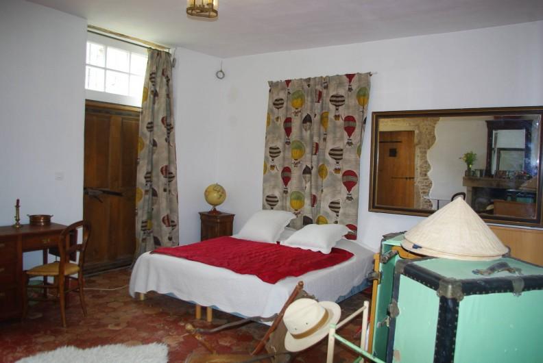 Location de vacances - Château - Manoir à Bussy-la-Pesle - Chambre Jules Verne