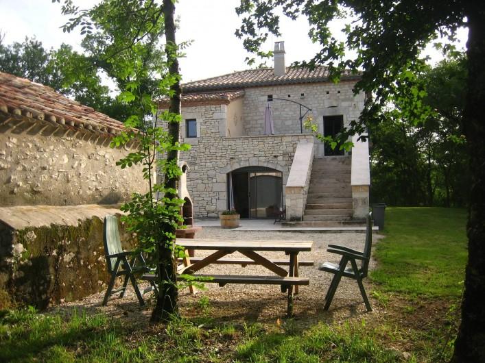 Location de vacances - Mas à Labastide-Marnhac - Coin Barbecue