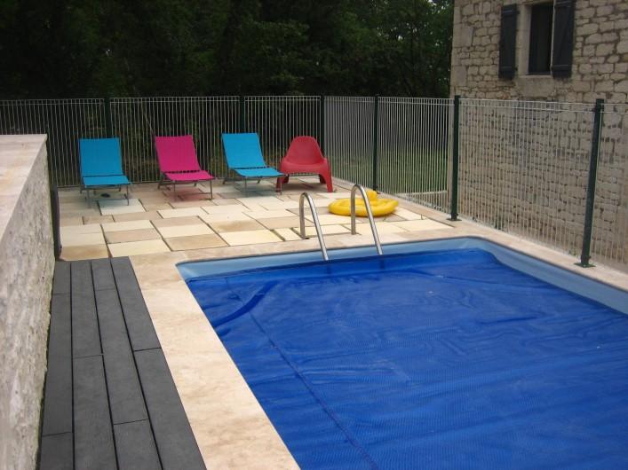 Location de vacances - Mas à Labastide-Marnhac - Vue piscine