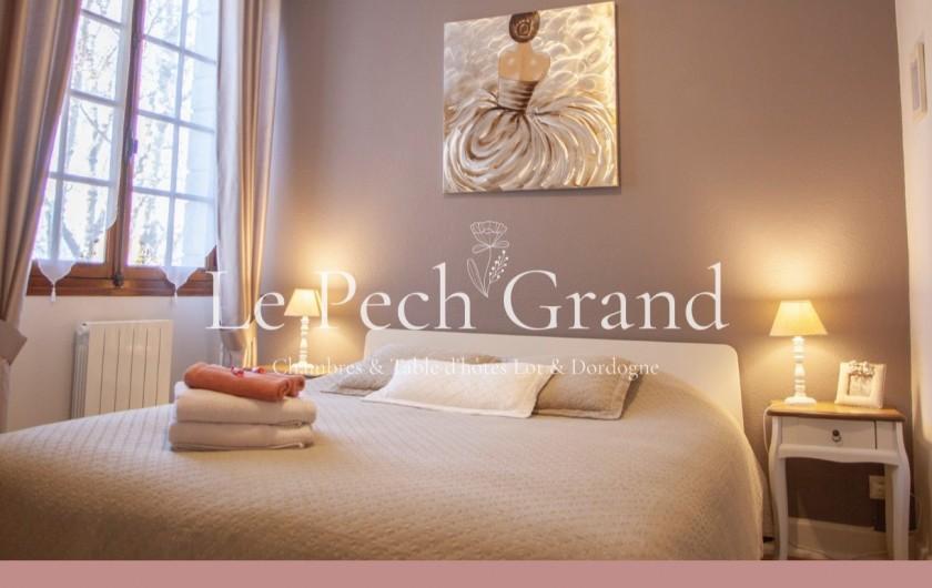 Location de vacances - Chambre d'hôtes à Saint-Sozy - Chambre de Catherine