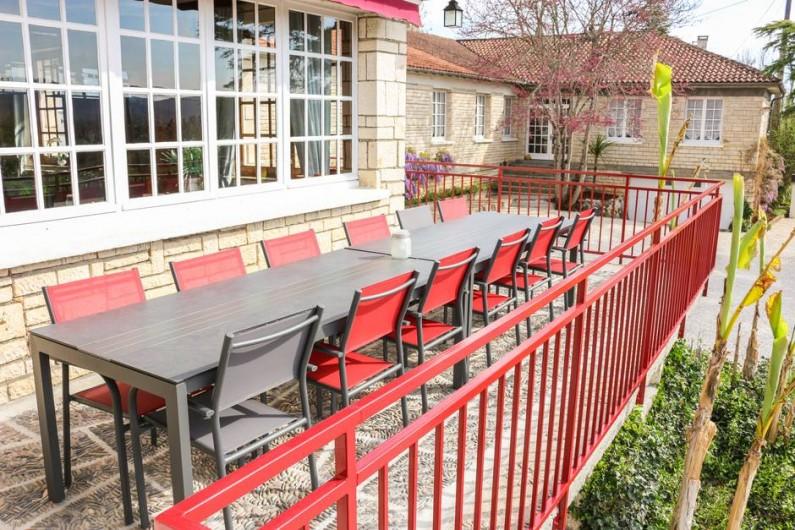 Location de vacances - Chambre d'hôtes à Saint-Sozy - Terasse Panoramique