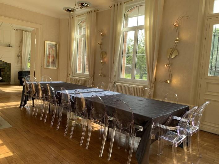 Location de vacances - Maison - Villa à Dury - Salle à manger 22 places
