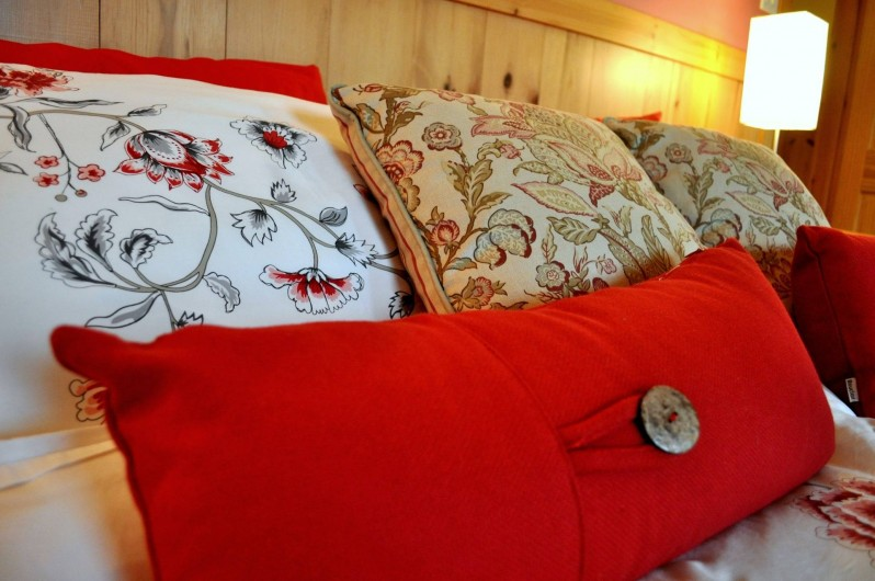 Location de vacances - Chalet à Val-David - Chambre TENDRESSE