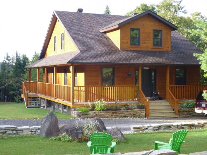 Location de vacances - Chalet à Val-David - Domaine BONHEURA...Été