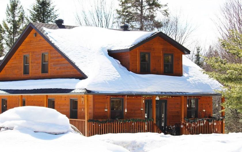 Location de vacances - Chalet à Val-David - Domaine BONHEURA...Hiver