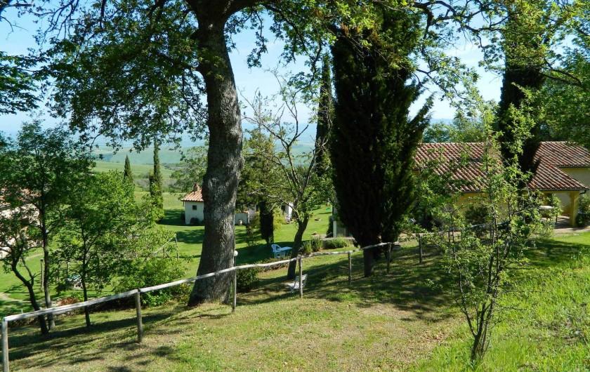 Location de vacances - Gîte à Campiglia D'orcia - veduta d'insieme