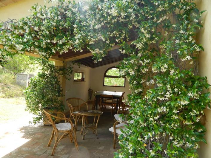 Location de vacances - Gîte à Campiglia D'orcia - Terrazza sul retro Casa Letizia