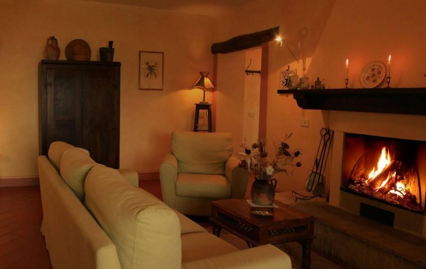Location de vacances - Gîte à Campiglia D'orcia - il caminetto Casa Claudia