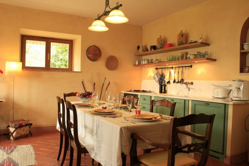 Location de vacances - Gîte à Campiglia D'orcia - cucina Casa Claudia