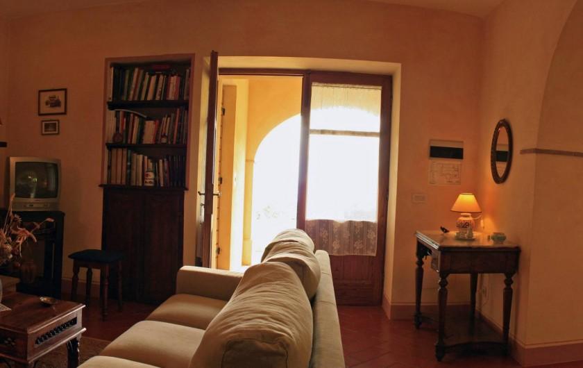 Location de vacances - Gîte à Campiglia D'orcia - il salotto