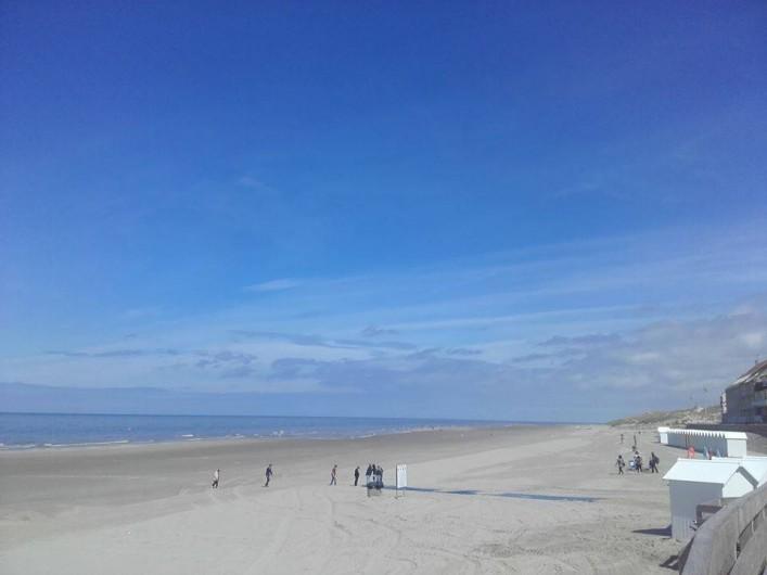 Location de vacances - Appartement à Fort-Mahon-Plage - La plage de Fort-Mahon, à marée basse,