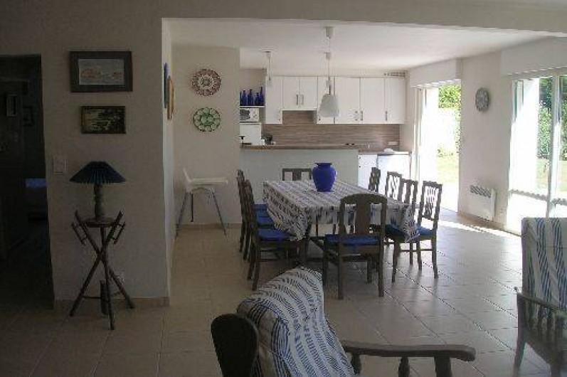 Location de vacances - Villa à Piriac-sur-Mer - salle à manger
