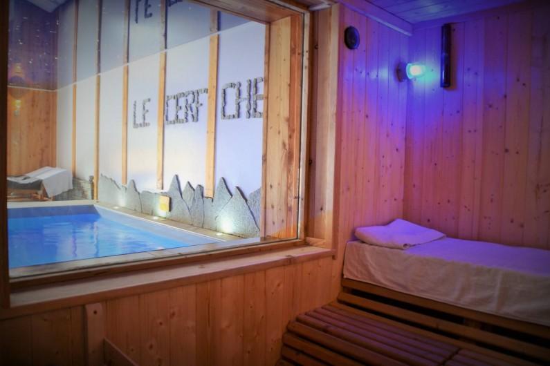 Location de vacances - Chambre d'hôtes à La Salle-les-Alpes - Sauna 6 pers en supplément