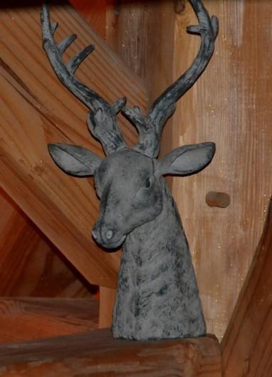 Location de vacances - Chambre d'hôtes à La Salle-les-Alpes - Déco montagne en mélèze brossé