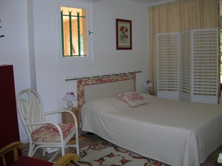 Location de vacances - Appartement à Sainte-Maxime - chambre 2