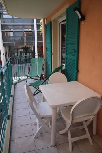 Location de vacances - Appartement à Menton - terrasse