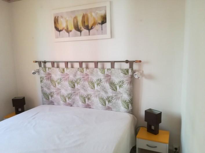 Location de vacances - Appartement à Menton - grande chambre