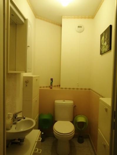 Location de vacances - Appartement à Menton - w c