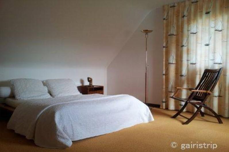 Location de vacances - Villa à Landéda - Chambre lit japonais