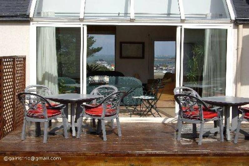 "Location de vacances - Villa à Landéda - Terrasse ""côté jardin"""