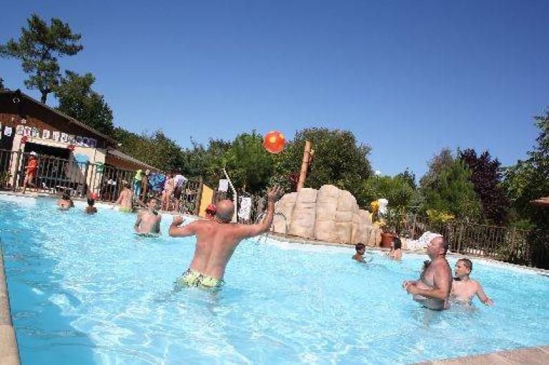 Location de vacances - Bungalow - Mobilhome à Grayan-et-l'Hôpital - Piscine chauffée