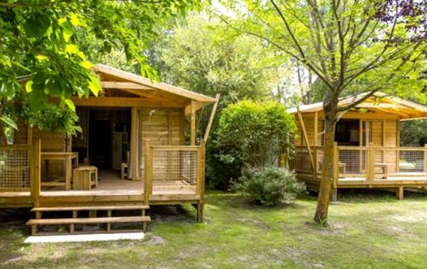 Location de vacances - Bungalow - Mobilhome à Grayan-et-l'Hôpital - Lodge chalets en bois