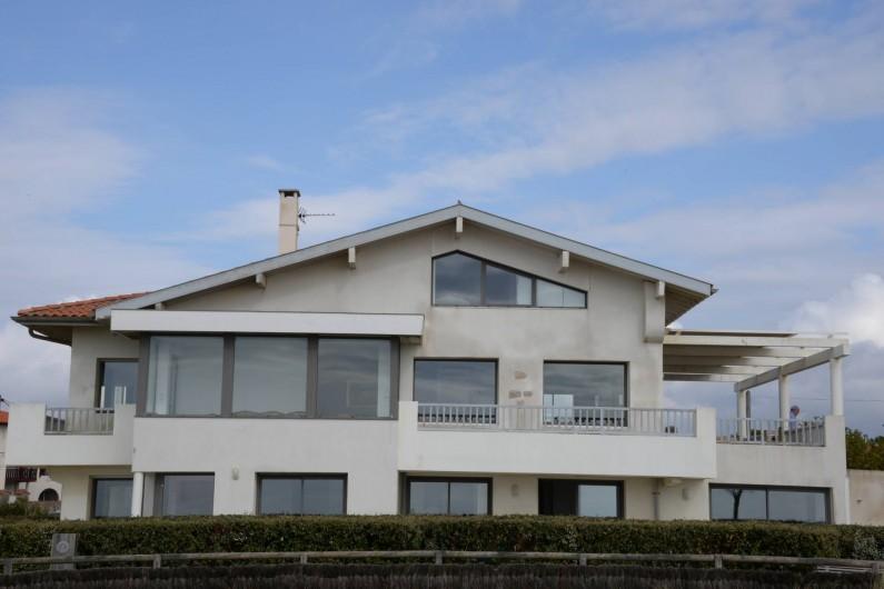 Location de vacances - Appartement à Soorts-Hossegor - façade Ouest