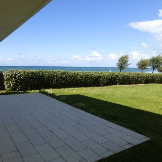 Location de vacances - Appartement à Soorts-Hossegor - appartement n°2: terrasse 55 m² avec jardin face à l'océan