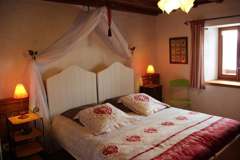 Location de vacances - Gîte à Saint-Pierre - la petite chambre, lit de 160/200