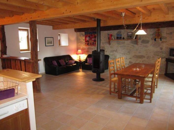 Location de vacances - Gîte à Arrens-Marsous - Le coin salon
