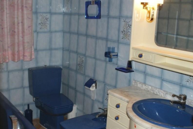Location de vacances - Villa à Cambrils - bain-toilette-lavabo appt 1