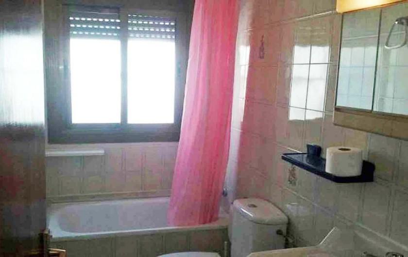 Location de vacances - Villa à Cambrils - bain-toilette-lavabo appt 2