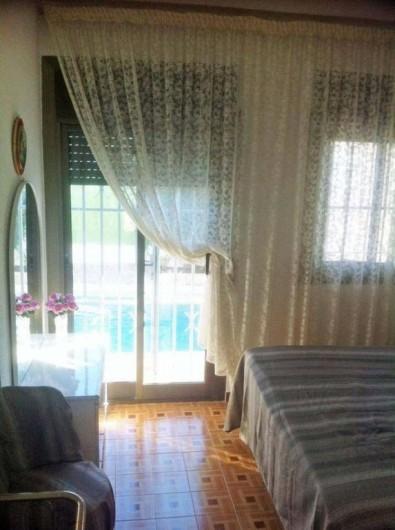 Location de vacances - Villa à Cambrils - chambre matrimoniale appt2