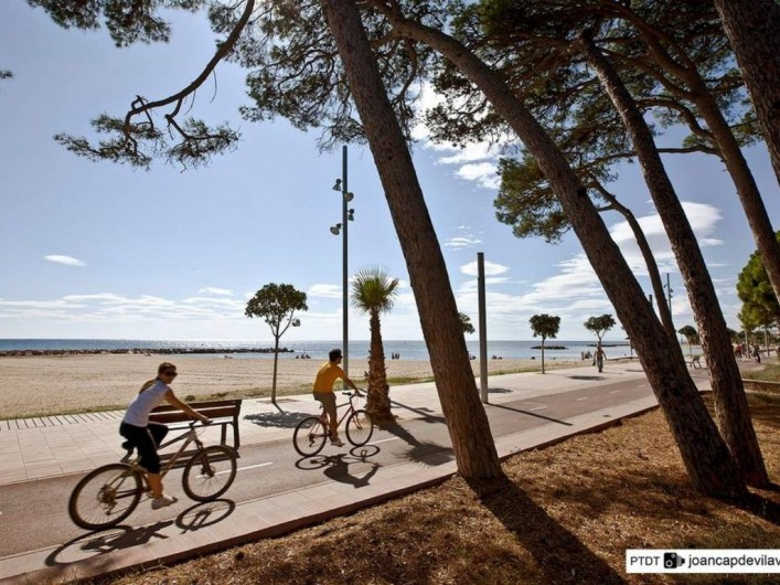 Location de vacances - Villa à Cambrils - piste cyclable