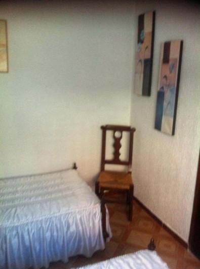 Location de vacances - Villa à Cambrils - chambre 2 lits appt 2