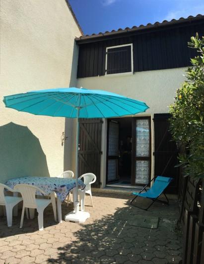 Location de vacances - Maison - Villa à Lacanau Océan - Terrasse