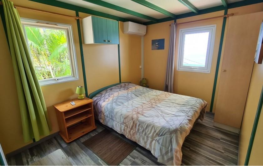 Location de vacances - Chalet à Saint-Leu - chambre double 1 vue sur ocean