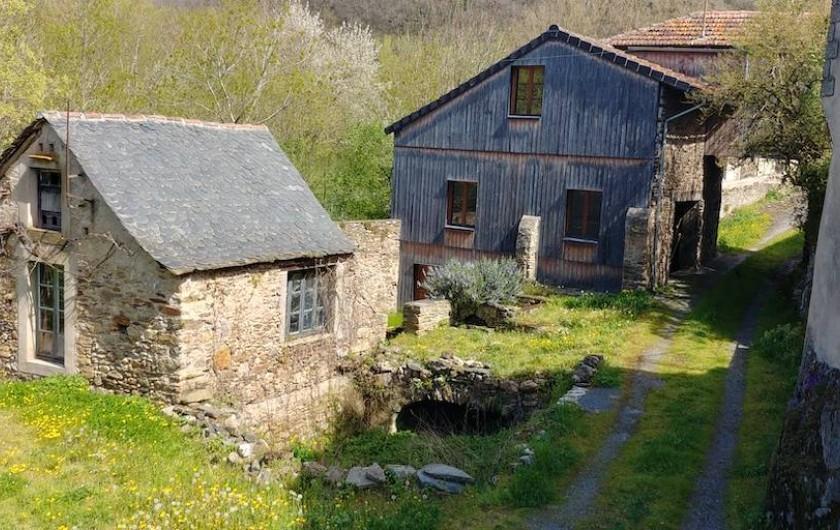 Location de vacances - Maison - Villa à Curvalle - Vue de la terrasse